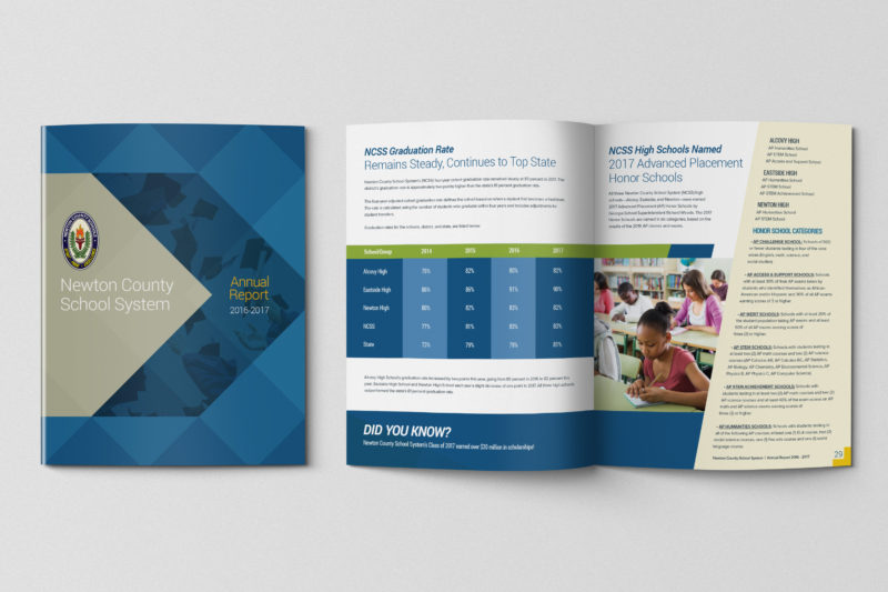 Newtown County School System Annual Report 2016-2017 Designed by SquareOne