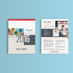 Nutri-Link Technologies Sales Sheet Ad Design Square One Creative Group
