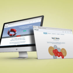 Nutri-Link Technologies Website designed by Square One Creative Group